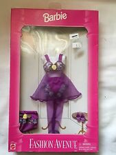 Mattel Barbie, Fashion Avenue, # 14291 - Purple Nightie -NEW