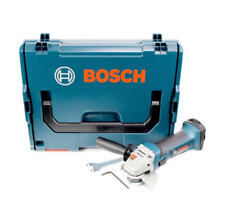 "Bosch 18v Cordless Angle Grinder 115mm 4 1/2"" Body Only + LBOXX Case 060193A304"