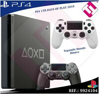 DAYS OF PLAY PS4 1TB 2019 PLAYSTATION 4 EDICION LIMITADA + SEGUNDO MANDO BLANCO