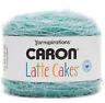 Caron Latte Cakes Yarn Velvet Teal 530 YARDS Yarnspirations 1 BALL w/ Pattern