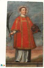 Barocke originale künstlerische Malerein der Zeit Miniatur -