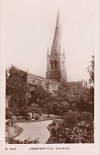 The Church, CHESTERFIELD, Derbyshire - Kingsway Series RP