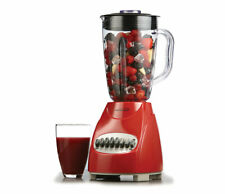 BRAND NEW Brentwood JB-220R 12-Speed + Pulse Blender, Red