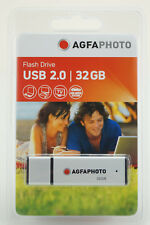 AGFA USB2.0 Stick 32GB silver Massenspeicher,FlashDrive 10514 NEU(world*)005-659