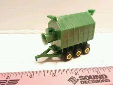 1/64 ertl farm toy standi all green portable grain dryer plastic free ship!