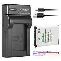 Kastar Battery Slim Charger for Nikon EN-EL19 Nikon Coolpix S3700 Coolpix S4100