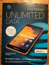 AT&T SAMSUNG GALAXY J2 SHINE GOLD COLOR WITH HEADSET Prepaid BRAND NEW