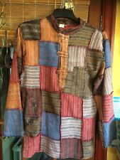 "Men's Nepalese Top/Shirt With Pocket...Size M...40"" Chest"