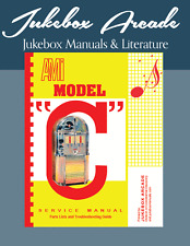 "AMI Model ""C"" Service & Parts Manual, Troubleshooting Guide from Jukebox Arcade"