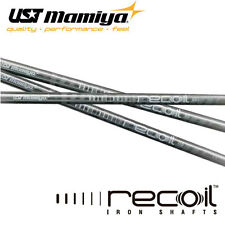 8 UST Mamiya Recoil 460 F3 Irons Graphite Regular Flex Parallel Tip Shafts