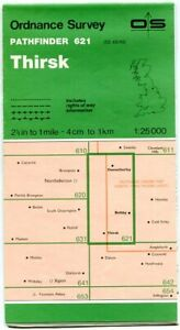UK ORDNANCE SURVEY Pathfinder (1:25000) Map 621 - Thirsk, Osmotherly, Boltby