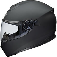 Shox Assault Motorcycle Helmet M Matt Black