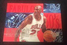 1995-96 Michael Jordan Fleer Ultra Fabulous Fifties 50's Chicago Bulls Goat