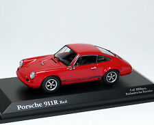 PORSCHE 911r 911 R 1967-Rouge Red Rouge rosso Rojo Röd ROOD-Kyosho 03172r 1:43