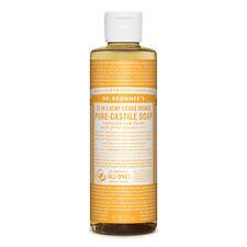 Dr Bronner's - Citrus Pure Castile Soap 237ml Organic Detergent