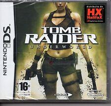 TOMB RAIDER UNDERWORLD (Nintendo DS) Lite Dsi xl 2ds 3ds XL GIOCO IN ITALIANO