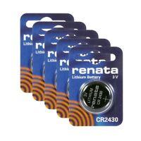 RENATA Knopfzelle Batterie 321/395/CR1216/CR2430 / 362/379/ 315/317/319/370 mehr