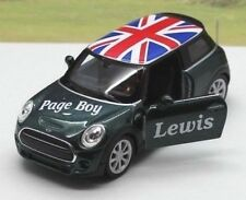 Wedding Day Gift Car Personalised name Page Boy Usher Best Man Toy Car Present