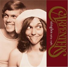 THE CARPENTERS SINGLES 1969-1981 CD (1999) Greatest Hits / Best Of