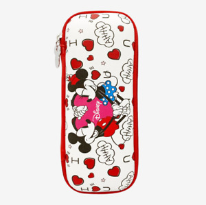 Disney Mini Mouse EVA Pencil Case Stationery Bag Cosmetic Pouch Cute Design