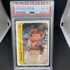 1986-87 Fleer Dominique Wilkins Sticker RC Rookie Card #11 Hawks PSA 6 EX-MINT