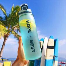 400ML Sport Shaker Bottle Whey Protein Powder Mixing Bottle Fitness Shaker #N01