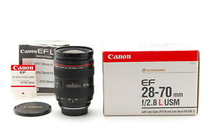 [Exc+4 Boxed] Canon EF 28-70mm f/2.8 L USM AF Telephoto Lens From JAPAN