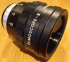ELMOSCOPE II ANAMORPHIC lentille pour Films et appareils photo numériques