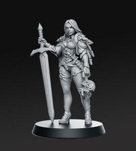 """Fantasy """"Zirila - Female Monster"""" RN Estudio   28mm-35mm   DnD   RPG   Boneshop"""