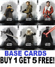 Topps  STAR WARS THE RISE OF SKYWALKER  BASE CARDS  BUY 1 GET 5 FREE!!