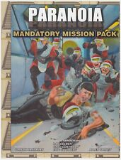 PARANOIA: MANDATORY MISSION PACK - Rpg Adventure