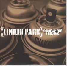 LINKIN PARK - Somewhere I Belong - RARE 2003 USA 1-track CD - FREE UK SHIPPING
