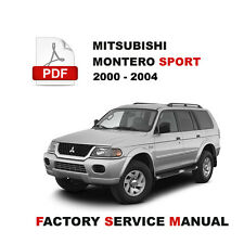 automotive pdf manual ebay stores rh ebay com 2000 mitsubishi montero sport repair manual pdf 2000 mitsubishi montero sport repair manual free