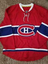 "NWOT - Montreal Canadiens Reebok Indo-Edge Authentic Jersey ""52"""