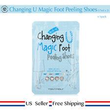 Tonymoly Changing U Magic Foot Peeling Shoes (17ml x 2) 1pack US Seller