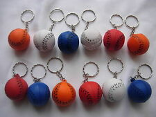 12 ball Keyring Party Loot Bag Fillers