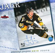 JAROMIR JAGR Autographed Pittsburgh Penguins 8x10 Photo - 70070
