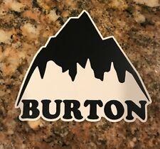 Burton Ski Sticker - Snowboarding Skiing Snow Mountain Sports Freestyle