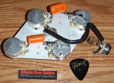 Gibson Les Paul Pot Control Board Classic CTS Guitar Parts Orange Drop Jack STD