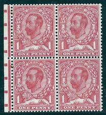 1911 sgN8(2)a 1d Pale Carmine Die 1B worn cross variety with cert unmounted mint