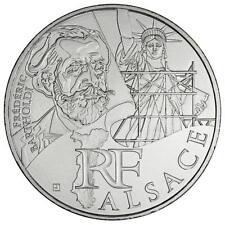 10 euros des régions personnages en argent Alsace 2012