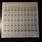 FEUILLE SHEET TIMBRE SAVANT LÉON FOUCAULT N°1148 x50 1958 NEUF ** LUXE MNH