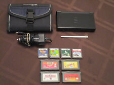 Damaged Screen Working Black Nintendo DS GBA Lite Charger 8 Games Incredibles