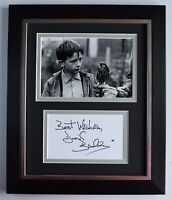 David Bradley Signed 10x8 Framed Autograph Photo Display Kes Film AFTAL & COA