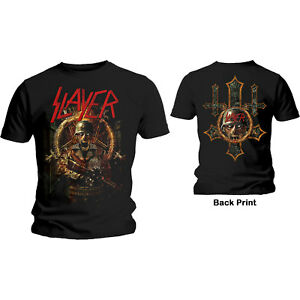 SLAYER- HARD COVER COMIC BOOK Official T Shirt Mens Licensed Merch New