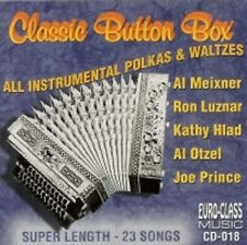 Classic Button Box All Instrumental Polkas and Waltzes New Polka CD 23 Songs !!!
