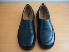 "WOMEN'S STEGMANN ""BANKIM"" GERMAN DESIGN BLACK LEATHER SHOES - SIZE 36W"