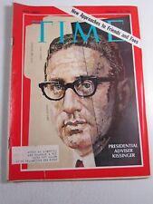 Time Magazine- Vintage- February 14, 1969- Presidential Adviser Kissinger