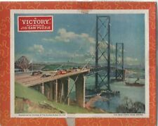 Vintage 1960's Victory Jig-Saw Puzzle 80 Pieces 'The New Forth Road Bridge'