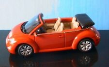 VW VOLKSWAGEN NEW BEETLE CABRIO 2003 SUNDOWN ORANGE AUTOART 1/43 COCCINELLE